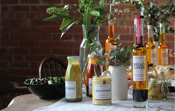 An image of a range of products available from Charlie & Ivy's