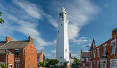 An image of Withernsea Lighthouse
