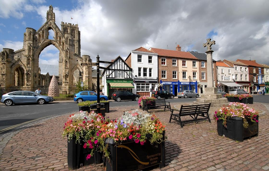 An image of Howden Market Place