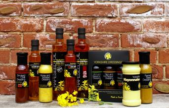 An image of a range of products available at Yorkshire Rapeseed Oil (Online Shop)